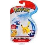Figure Pikachu e Popplio 2 pollici della Wicked Cool Toys - Collezione Pokémon 2 Inch Figure Battle Packs 2018.jpg