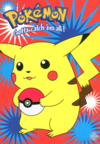 Cartolina 6 PC0148 Pokémon Pikachu PokéBall GB Posters.png