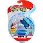 Figure Mareanie 2 pollici con Sub Ball della Wicked Cool Toys - Collezione Pokémon Clip 'N' Go Poké Ball 2019.jpg