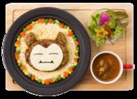 Hamburger Doria Snorlax Pancia Piena (Pokémon Café Tokyo DX).png