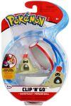 Figure Sandygast 2 pollici con Premier Ball della Wicked Cool Toys - Collezione Pokémon Clip 'N' Go Poké Ball Series 2 2019.jpg