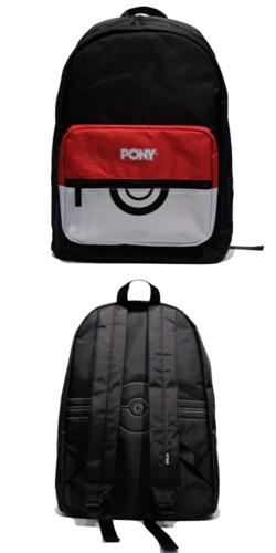 Pokémon x PONY Zaino Poké Ball Bianco.png