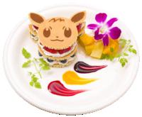 Il Pancake di Eevee (Pokémon Café Tokyo DX Menù Estivo).png