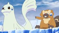 Maratona Pokémon tra gli iceberg Bibarel.png