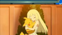 Lylia e Pikachu