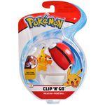 Figure Pikachu 2 pollici con Poké Ball della Wicked Cool Toys - Collezione Pokémon Clip 'N' Go Poké Ball 2019.jpg