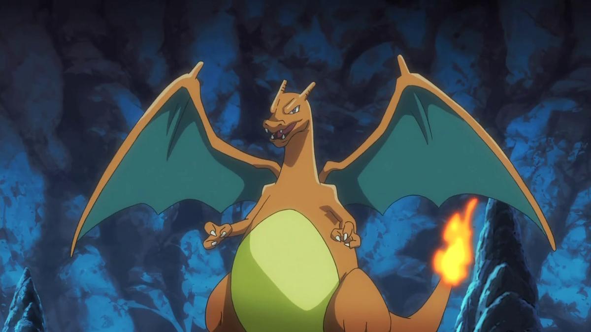 Charizard di Rosso - Pokémon Central Wiki