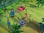 Scuola per Pokémon Ninja Ariados Bellsprout Tangela.png