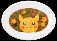Energico Pikachu al Curry (Pokémon Café Tokyo DX).png