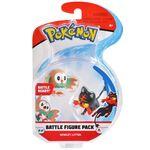 Figure Rowlet e Litten 2 pollici della Wicked Cool Toys - Collezione Pokémon 2 Inch Figure Battle Packs 2018.jpg