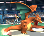 Allenatore Pokémon Charizard SSBB.png