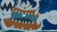 Guzzlord cromatico gigante anime.png