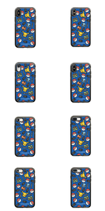 CASETiFY & Pokémon - Impact - Stickers by Craig & Karl (Blue) (The Icons Pikachu Bulbasaur Charmander Squirtle - 2019).png