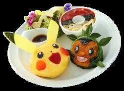 Cantiamo Insieme Il piatto dell'amicizia di Pikachu e Chespin (Pokémon Café Pikachu and Pokémon Music Café).png