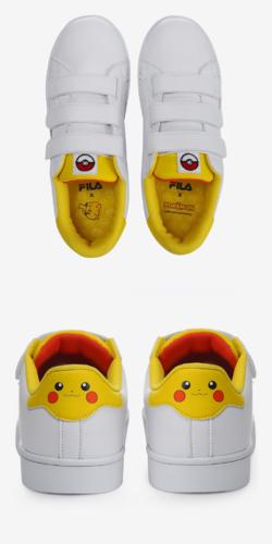 Fila x Pokemon Court Deluxe Pikachu COD-PRO.FS1SIA1230X WWT.png