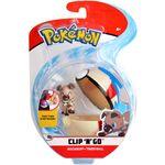 Figure Rockruff 2 pollici con Timer Ball della Wicked Cool Toys - Collezione Pokémon Clip 'N' Go Poké Ball 2019.jpg