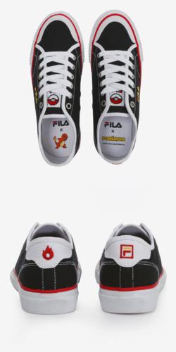 Fila x Pokemon Classic Kicks B Charmander FS1SIA1221X BLK.png