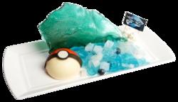 Mossa decisiva Idropompa! ArcheoKyogre di piatto da Dessert (Pokémon Café Everything with Fries di Singapore).png