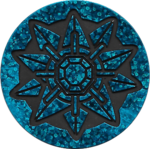 HCG Blue Starmie Coin.png