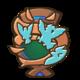 Masters Emblema Tre Pidgey con una fava.png