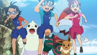 Challenge! Pokémon Marine Athletics!!