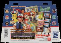 Manifesto pubblicitario in cartoncino delle Jumbo Carddass Pokémon Animation Version Parte 2 del 1997 della Bandai.png